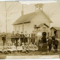 Image of Education - Barnes School--Homer Township