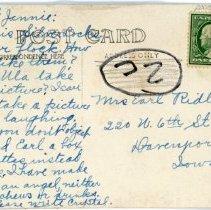 Image of Barnes School--Back Correspondence
