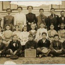 Image of Barnes School--Homer Township