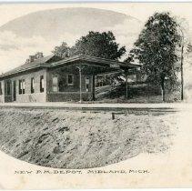 Image of Transportation - Pere Marquette Railroad Depot