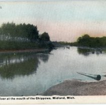 Image of Tittabawassee River at the Chippewa River