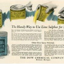 Image of Dry Lime Sulphur Handbill