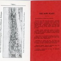 Image of DowMetal Piston Handbill back pages
