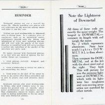 Image of DowMetal Piston Handbill pages 14 and 15