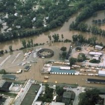 Image of Flood of 1975--Downtown Midland