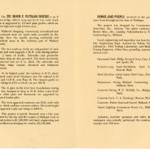 Image of Putnam Bridge Facts and Figures