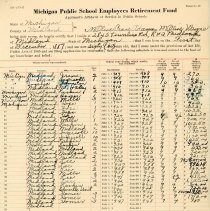Image of Michigan Public School Employees Retirement Fund Affidavit -
