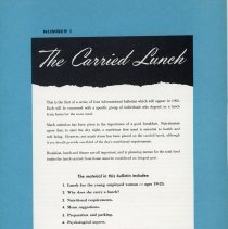 "Image of ""The Carried Lunch"