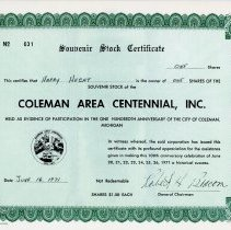 Image of Coleman's Centennial Celebration -