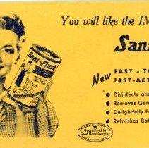 Image of Sani-Flush Blotter