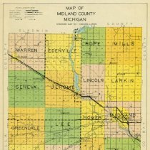 Image of Midland County Map