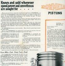 Image of DowMetal Pistons Handbill