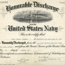 Image of Discharge Certificate-1945