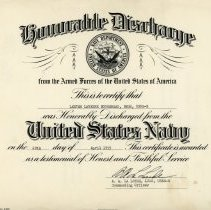 Image of Discharge Certificate-1955