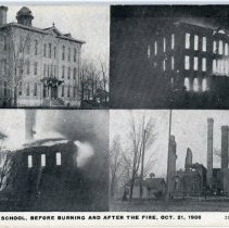 Image of Union School Fire