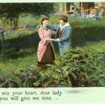 """Image of Addressed to Midland County - """"I'll Win Your Heart, Dear Lady If you Will Give Me Time."""""""