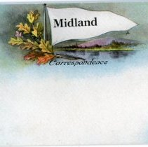 Image of Addressed to Midland County - Midland Postcard
