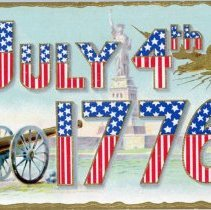 Image of Addressed to Midland County - July 4th 1776