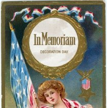 Image of Addressed to Midland County - In Memorium-Decoration Day