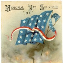 """Image of Addressed to Midland County - """"Memorial Day Souvenir"""""""