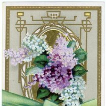 """Image of Addressed to Midland County - """"Lilac: Emblem of First Emotions of Love"""""""