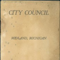 Image of Midland City Council Booklet