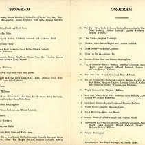 Image of Dance Review Theatre Program 1932 - Inside