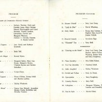 Image of Dance Review Theatre Program 1936 - Inside