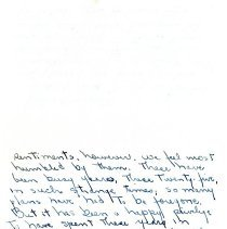Image of Letter from Martha Pratt Dow - Back