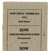 Image of Dow Chemical Co. Spray Chemicals -
