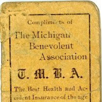 Image of The Michigan Benevolent Association -