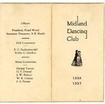 Image of Midland Dancing Club card -