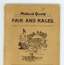 Image of Midland County Fair Pamphlet -