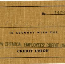 Image of Dow Chemical Employees' Credit Union Bank Book - Cover