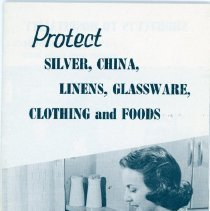 Image of Saran Wrap Advertising Booklet - Front Cover