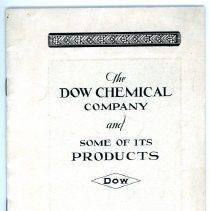 Image of Dow Chemical Co. Product Phamplet -