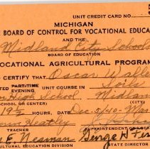 Image of Vocational Education Certification -