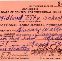 Image of Vocational Education Certificate -
