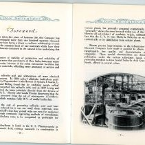 Image of Dow Salicylates Product Brochure -  Pages 6 & 7