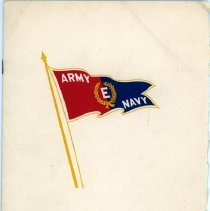 Image of Army-Navy Production Award Brochure - Front Cover