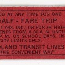 Image of Youth Transit Ticket -