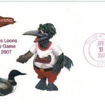 Image of Great Lakes Loons Envelope