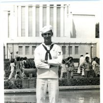 Image of WWII: United States Navy - Seaman Robert  Balston - Front