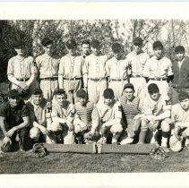 Image of Midland High School Baseball Team - Baseball Team