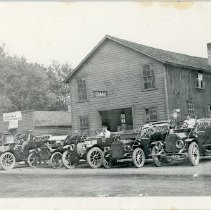 Image of Price Family - Alfred Price Garage