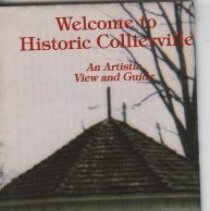 Image of 2011.02.03 - Welcome to Historic Collierville Pamphlet and Map - 1994
