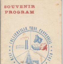 Image of Collierville Centennial Souvenir Program