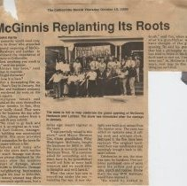 Image of McGinnis Hardware Reopens 10-10-1996