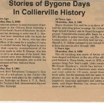 Image of Stories of Collierville History