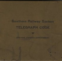 Image of Southern Railway System Telegraph Code